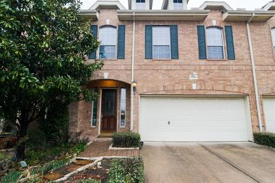Houston TX Condo/Townhouse For Sale: $389,000