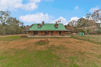 Huffman Single Family Home For Sale: 72 Oak Leaf Drive