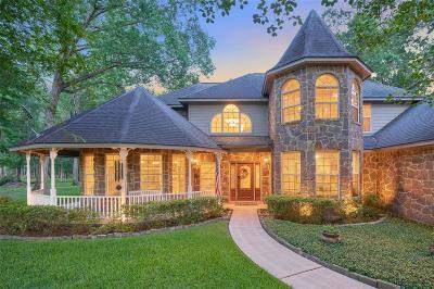 Conroe Single Family Home For Sale: 11830 White Oak Trail