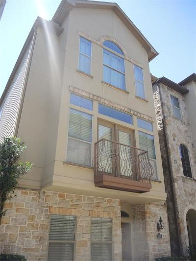 Houston TX Single Family Home For Sale: $445,000
