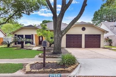 Katy Single Family Home For Sale: 21654 Park Brook Drive