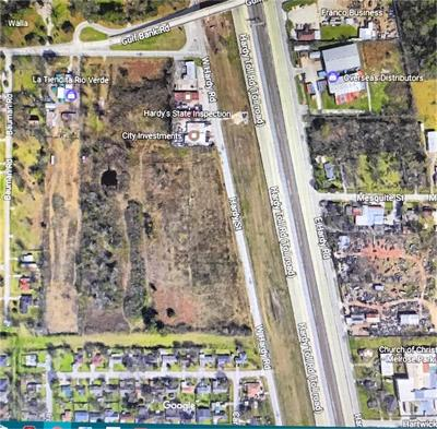 Houston Residential Lots & Land For Sale: W Hardy Road