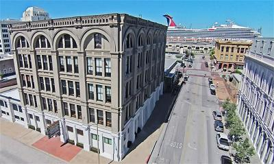 Galveston Mid/High-Rise For Sale: 2402 Mechanic Street #503