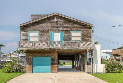 Galveston Single Family Home For Sale: 4726 Jamaica Cove Road