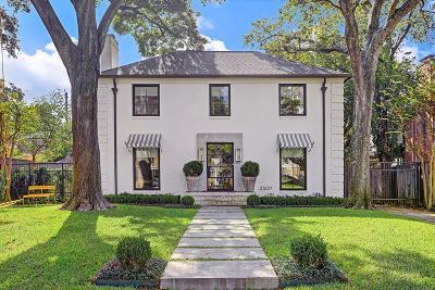 Houston Single Family Home For Sale: 2507 Reba Drive