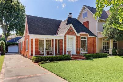 Houston Single Family Home For Sale: 6320 Sewanee Avenue