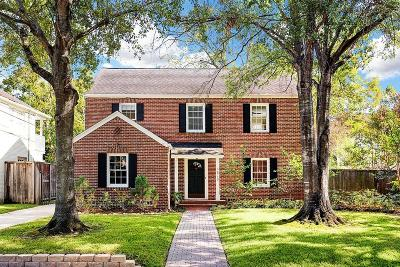 West University Place Single Family Home For Sale: 6719 Brompton Road