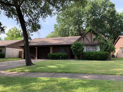 Houston TX Single Family Home For Sale: $164,900