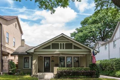 Houston Single Family Home For Sale: 1520 Hawthorne Street