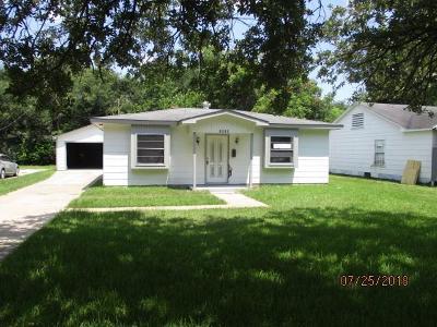 Baytown Single Family Home For Sale: 1412 Harvard Street