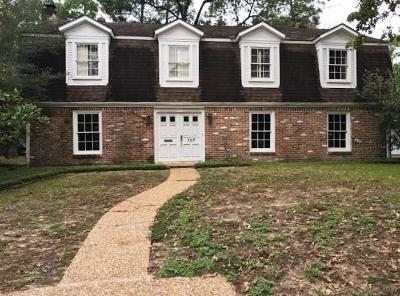 Houston Single Family Home For Sale: 107 Cinnamon Oak Lane
