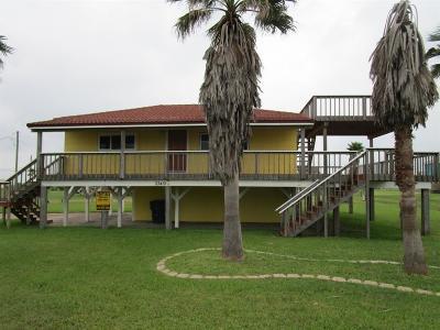 Galveston Single Family Home For Sale: 23410 Termini San Luis Pass Road