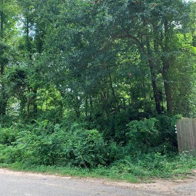 Conroe Residential Lots & Land For Sale: 9840 Dogwood Ln Lane