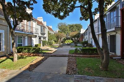 Houston Condo/Townhouse For Sale: 2677 Marilee Lane