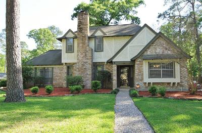 Kingwood TX Single Family Home For Sale: $220,000