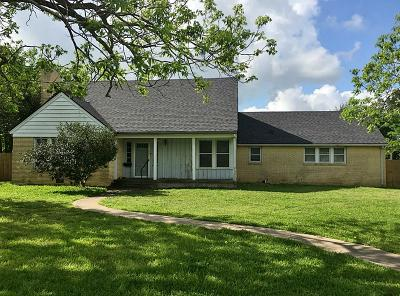 Weimar Single Family Home For Sale: 503 W Main Street