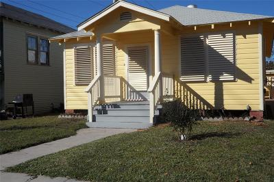 Galveston Single Family Home For Sale: 5224 Avenue P 1/2