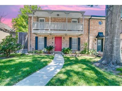 Houston Condo/Townhouse For Sale: 14730 Perthshire Road #A