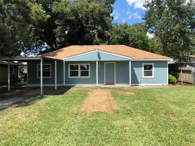Houston Single Family Home For Sale: 7423 Stanwick Drive
