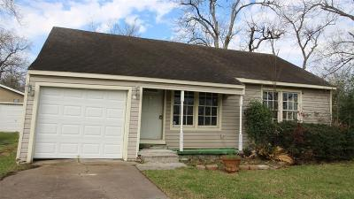 Harris County Single Family Home For Sale: 221 E 4th Street