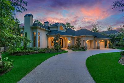 The Woodlands Single Family Home For Sale: 63 Heritage Hill Circle