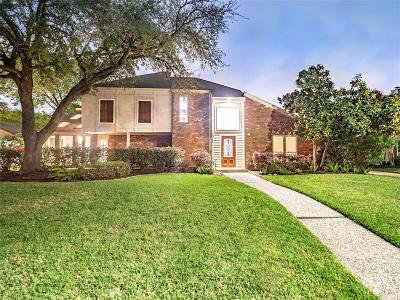 Houston Single Family Home For Sale: 1311 E Brooklake Drive