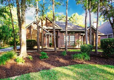The Woodlands Single Family Home For Sale: 15 E Sunny Slope Circle