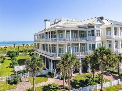 Galveston Single Family Home For Sale: 2509 E Seaside Drive