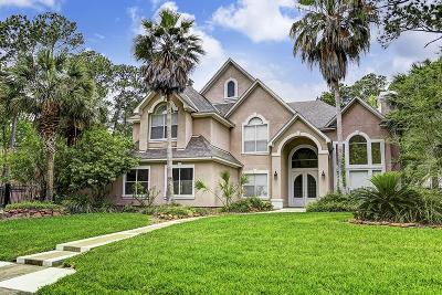 Kingwood Single Family Home For Sale: 1603 Sheltering Oaks Lane