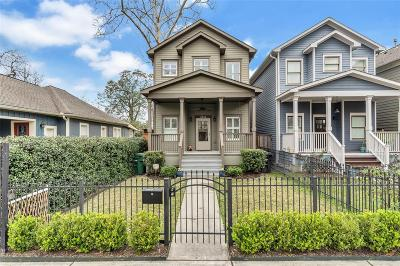 Houston Single Family Home For Sale: 633 W 21st Street #A