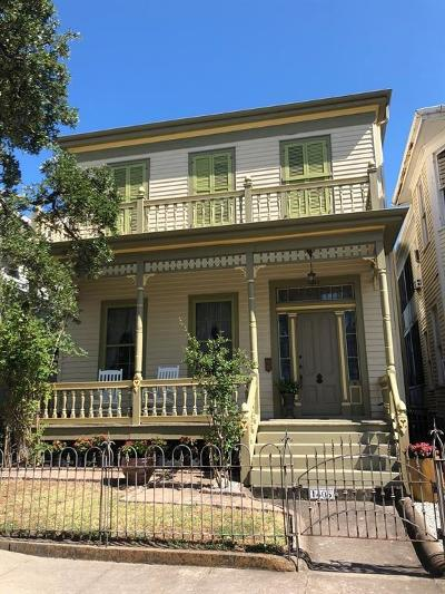 Galveston Single Family Home For Sale: 1405 Post Office Street