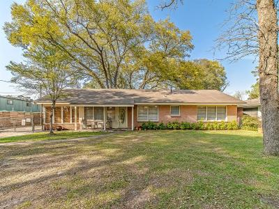 Houston Single Family Home For Sale: 814 Pinemont Drive
