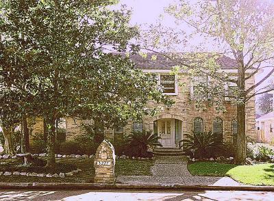 Houston Single Family Home For Sale: 3227 Ashfield Drive
