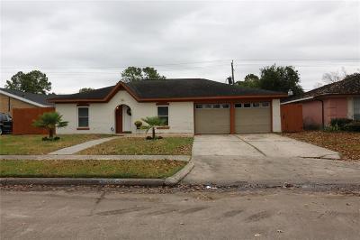 Houston TX Single Family Home For Sale: $170,000