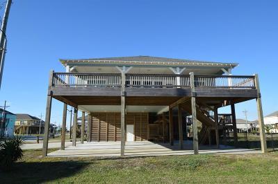 Crystal Beach Single Family Home For Sale: 958 S Redfish Street