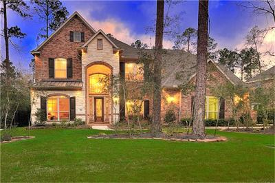 The Woodlands TX Single Family Home For Sale: $839,900