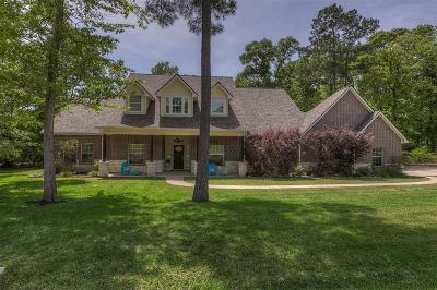 Willis Single Family Home For Sale: 9 Double Creek Court