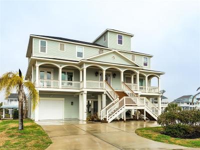 Galveston Single Family Home For Sale: 13634 Stewart Road