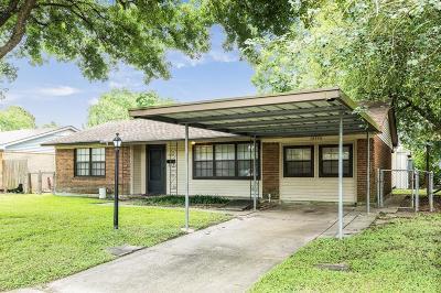 Houston Single Family Home For Sale: 10534 Kittrell Street