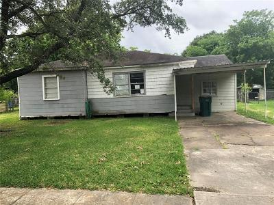 Harris County Single Family Home For Sale: 1116 Sunset Drive