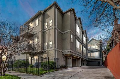 Houston Condo/Townhouse For Sale: 1316 Peden Street #A