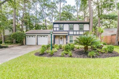 Houston Single Family Home For Sale: 2039 Oak Shores Drive