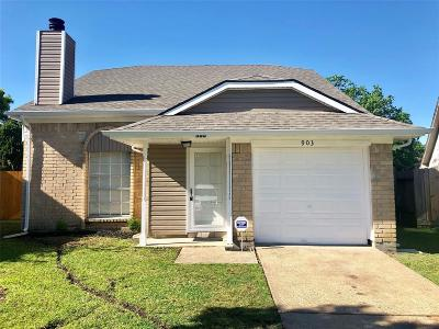Single Family Home For Sale: 903 Holbech Lane