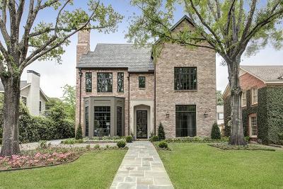 Houston Single Family Home For Sale: 3028 Locke Lane