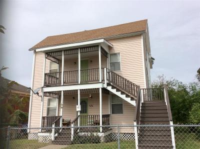 Galveston Single Family Home For Sale: 3526 Ave N 1/2