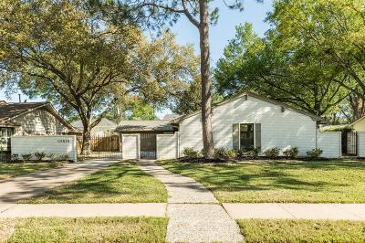 Houston Single Family Home For Sale: 10618 Cranbrook Road