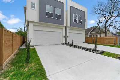 Houston Single Family Home For Sale: 3807 B Billingsley Street