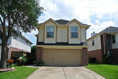 Missouri City Single Family Home For Sale: 7637 Jonathon Court
