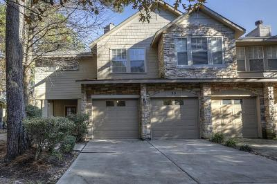 The Woodlands Condo/Townhouse For Sale: 55 Scarlet Woods Court