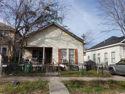 Harris County Single Family Home For Sale: 407 Paschall Street